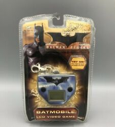 Batman Begins Batmobile Lcd Video Game With Attached Keychain Clip - Read Below