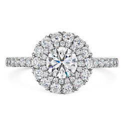Solid 14k White Gold Rings 1.00ct Real Diamond Solitaire Women Ring Size 5 6