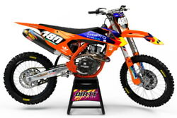 New Dirtx Industries Complete Graphics World Gp All Ktm Sx Sxf Xc Xcf Xcw Exc