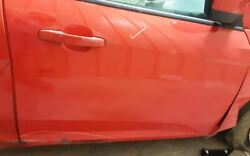 13 14 Ford Focus R. Front Door Electric W/o Passenger 1 Touch Up And Down
