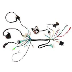 50 70 90 110cc Atv Wire Harness Wiring Cdi Assembly Quad Coolster 3050c