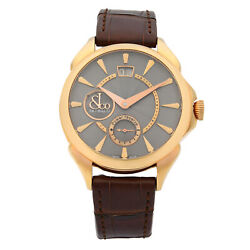 Jacob & Co. Palatial Classic Rose Gold Hand-Wind Mens Watch PC400.40.NS.NB.A