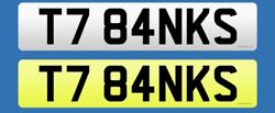 Private Number Plate T784 Nks On Retention - Andlsquott Banksandrsquo Assignment Fee Paid