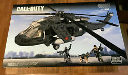 Mega Bloks 06858 Call Of Duty Ghosts Tactical Helicopter Vhtf War Retired Set