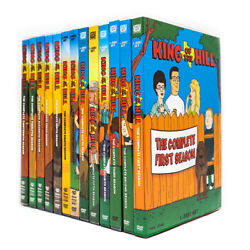 King Of The Hill Season 1 13 The Complete Series Collection DVD Brand New $68.99