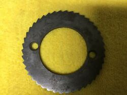 Vintage Ko Lee 44 Tooth Position Index Plate 3 1/4andrdquo Dia.