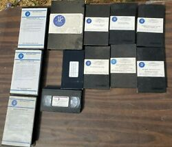 Lot Of 11 Vhs Tapes The Network For Continuing Medical Education 1985-1991