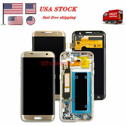 Lcd Touch Screen Digitizer For Samsung Galaxy S7 Sm-g930 S7 Edge Sm-g935f Us