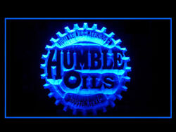 Y201b Humble Old Oil For Garage Display Decor Light Sign