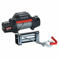 Trailfx Wr12b Vehicle Mounted Recovery Winch - 12 Volt Electric New