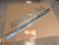 1973 74 75 76 77 Chevy Monte Carlo Nos Gm Right Door Lower Wide Molding