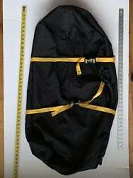 Equinox backpack kid carrier airport covers Made in USA new black Cordura $21.00