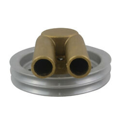 Water Pump Double V Belt Pulley For Volvo Penta 4.3 5.0 5.7 Engines 21214596