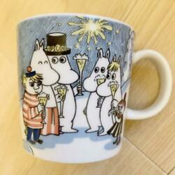 Arabia Finland Exclusive 2000 Millennium Mug And Saucer Moomin From Japan F/s