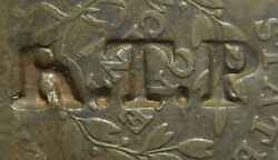 Large Cent/penny 1798 Sheldon 171 Mid Grade Choice Surfaces Thick Counterstamp