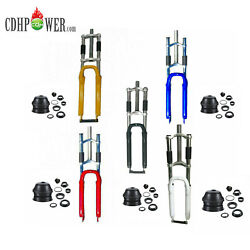 Cdhpower Bicycle Fork 26 Combo-triple Tree Suspension Fork And 1 1/8 Headset