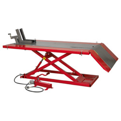Sealey Mini Tractor/quad/motorcycle Lift 680kg Capacity Air/hydraulic Mt680