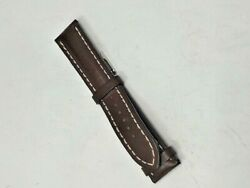 Breitling Watch Band Leather Strap 437x 22-20 120 Authentic New
