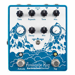 Earthquaker Devices Avalanche Run Delay And Reverb With Tap Tempo V2 Guitar Pedal