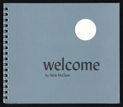 Rare 2004 Nikki Mcclure Welcome Self Published Illustrated Childrens Book Artist