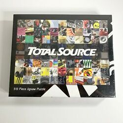 Total Source 513 Piece Jigsaw Puzzle Mechanics Tools Equipment New Sealed