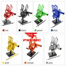 For Kawasaki Zx7r 1996-2003 Cnc Motorcycle Rearset Footrest Footpegs Pegs Pedals