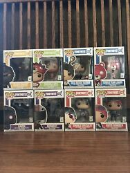 New Epic Games Fortnite Funko Pop Lot Of 8 Figures With Exclusive Great Gifts