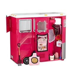 Our Generation Mane Attraction Horse Trailer For 18 Ag Dolls - Free Return