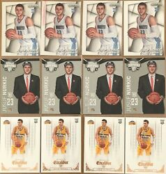 Jusuf Nurkic 12 Card Rookie Lot Prizm Certified Excaliber