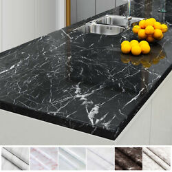 Marble Paper Self Adhesive Peel And Stick Wallpaper Kitchen Countertop Removable