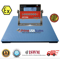 Prime Usa Op-916 And Op-900b-ex Ntep 4and039 X 4and039 Explosion Proof Safe Floor Scale