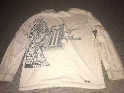 HARLEY DAVIDSON 1 Long Sleeve T-Shirt Size Extra Large XL Light Grey Pre-Owned $10.99