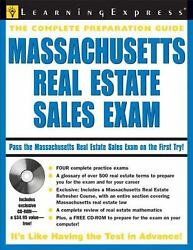Massachusetts Real Estate Sales Exam By Learningexpress Staff