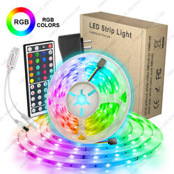 US 5M 16.4ft quot;5050quot; LED Strip Light RGB SMD Tape Lamp Full Kit Remote amp; Power
