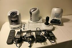 Sony Ptz Model Brc-300, 3ccd Color Video Cameras, Rmc Unit Rm-br300