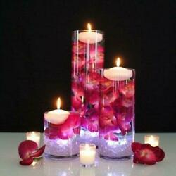 3sets Of 3piece Cylinder Vases Wedding Glass Table Centerpiece Candle Holders