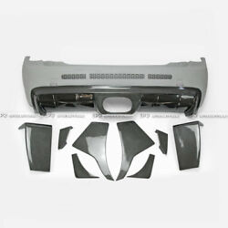 For Mini Cooper S F56 Tp Style Carbon+frp Wide Body Kit Rear Bumper S Only