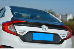 New Carbon Oem Rear Trunk Boot Lid Tailgate For Honda 10th Generation Civic Fc