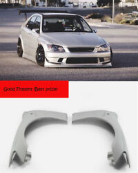 New 2pcs Cs Style Frp Front Fender Kits For Lexus 98-05 Is200 Rs200 Xe10 Altezza