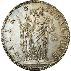 [489911] Coin Italian States Piedmont Republic 5 Francs An 10 Turin Ms