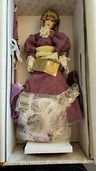 Franklin Mint Heirloom Violette Gibson Girl Doll 21 New Condition No Coa