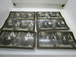 Lot Of 6 Stereoviews By American Stereoscopic Company