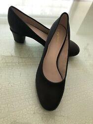 ❤️NEW Elegant Designer Seychelles Black Pump Heels Women's Shoes 8.5M39 Non Skid $49.99