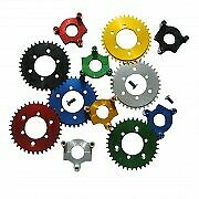 Cnc 36t Sprocket 1.5 Inch Adapter For 415 Chain 80cc Motorized Bicycle Bike