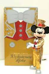 Medicom Toy Gold Mickey Mouse Tokyo Disney Land 30th Anniversary Figure Japan