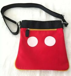 Mickey Minnie Mouse Crossbody Purse FLIP PURSE OVER FOR MICKEY $24.95