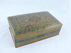 1910-1920's Schrafft's Oriental Rug Canco Tin Candy Container