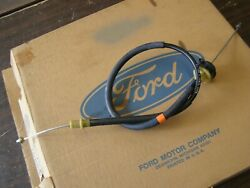 Nos Oem Ford 1981 1982 Mustang Clutch Release Cable 4 Cylinder Turbo Manual