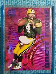 1997 Pacific Dynagon Careers 5 Brett Favre Purple Stated Run Of Only 30