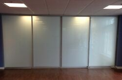 Room Divider/gliding Doors-frosted Glass